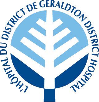 The Geraldton District Hospital Logo
