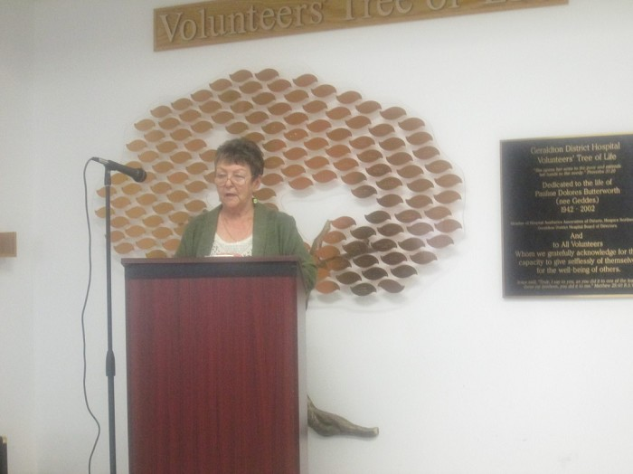 Doreen Boulanger, Vice Chair of the Board of Directors, Geraldton District Hospital